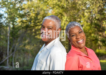 Porträt eines Reifen afrikanische amerikanische Paar - Stockfoto