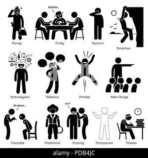Neutrale Persönlichkeiten Charaktereigenschaften. Zahlen