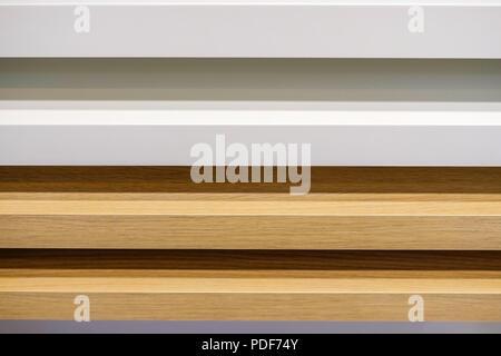 Verschiedene Arten Von Holz. White Oak. Mooreiche. Licht Nussbaum. Details