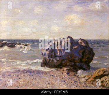 Langland Bay, Morgen, Sisley, Alfred - Stockfoto