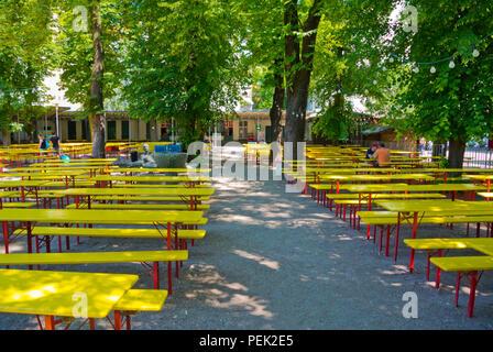 Prater Garten, Biergarten, Prenzlauer Berg, Berlin, Deutschland - Stockfoto