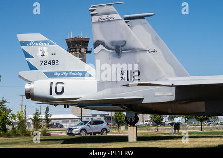 Die 120. Airlift Wing, Montana Air National Guard, in Great Falls, Montana - Stockfoto
