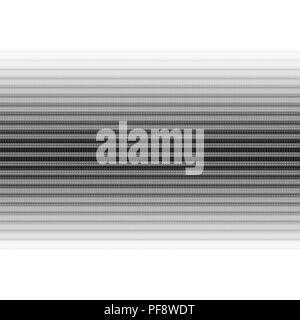 Diggerent Schwarz und Grau reifen Track Linien auf weißem Hintergrund - Stockfoto