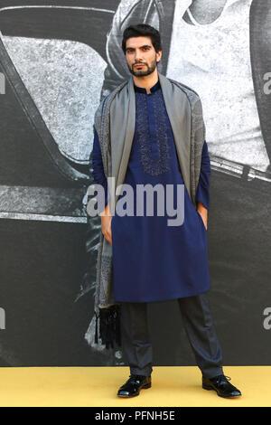London, Großbritannien. 21 Aug, 2018. Akin Gazi, yardie-UK Premiere, BFI Southbank, London, UK. 21 Aug, 2018. Foto von Richard Goldschmidt Credit: Rich Gold/Alamy leben Nachrichten - Stockfoto