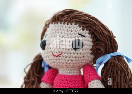 Gewirken rag doll - Stockfoto