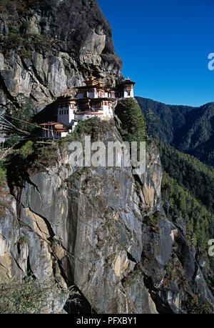Taktshang Goemba, Tiger Nest Kloster in der Nähe von Paro in Bhutan
