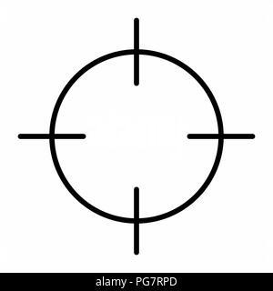 Abbildung: schwarz auf weißem Hintergrund - Stockfoto