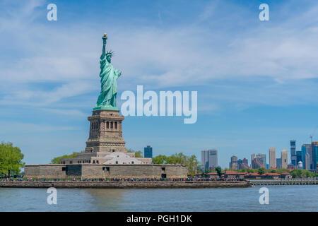Freiheitsstatue in New York - Stockfoto