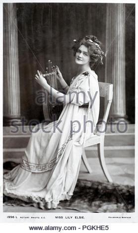 lily elsie 1886 1962 englische schauspielerin und. Black Bedroom Furniture Sets. Home Design Ideas