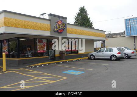 Die Kirche Chicken Fast Food Kette In Vancouver Bc Kanada