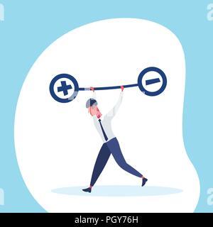cartoon von mann oder gesch ftsmann holding gro e zahl null oder 0 vektor abbildung bild. Black Bedroom Furniture Sets. Home Design Ideas
