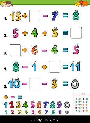 Mathematik-Puzzle für Kinder. Mathematik lernen während des Spielens ...