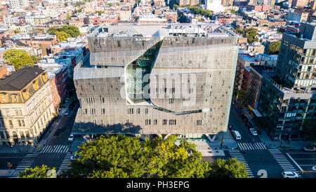 51 Cooper Square, der Cooper Union, Albert Nerken School of Engineering, East Village, Manhattan, New York City, NY, USA - Stockfoto