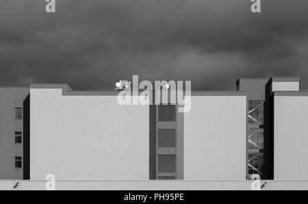 Industriegebäude - Stockfoto
