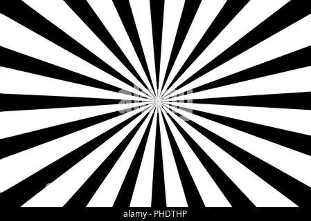 Schwarzes und weißes Testbild - Stockfoto