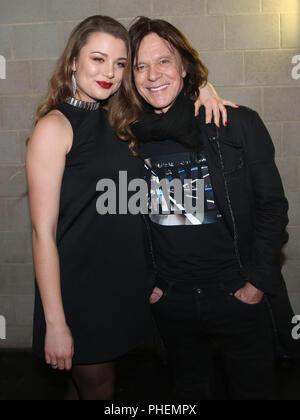 Joelina Drews mit Vater Sänger Jürgen Drews - Stockfoto