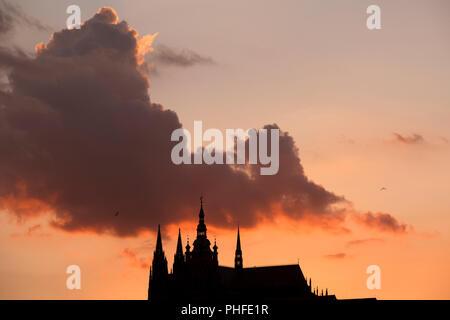 Hradschin, der Prager Burg, Prag, Tschechische Republik.
