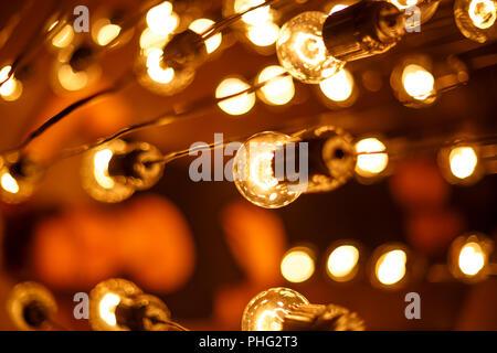 Lampen und Leuchten Soft Focus - Stockfoto