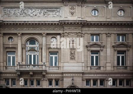 Fassade Teatro Colon in Buenos Aires, Argentinien - Stockfoto