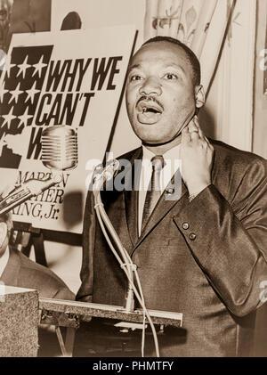 Der Reverend Dr. Martin Luther King, jr. - Stockfoto