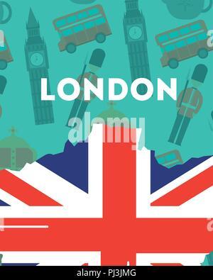 Liebe Visit London - Stockfoto