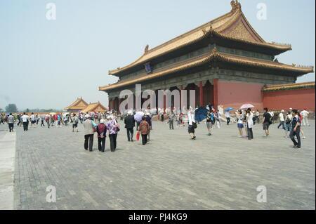 Die Verbotene Stadt, Peking, China - Stockfoto