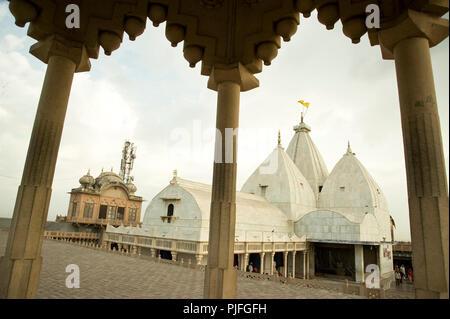 Nandgaon Tempel, der Tempel der Familie von Lord Krishna in Mathura Uttar Pradesh Indien - Stockfoto