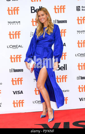Toronto, Ontario, Kanada. 9 Sep, 2018. PETRA NEMCOVA besucht 'Quincy' Premiere während der 2018 Toronto International Film Festival im Princess of Wales Theatre am September 09, 2018 in Toronto, Kanada Quelle: Igor Vidyashev/ZUMA Draht/Alamy leben Nachrichten - Stockfoto