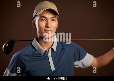 Golfspieler - Stockfoto