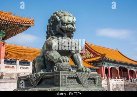 Das Tor von Peking das Imperial Palace - Stockfoto