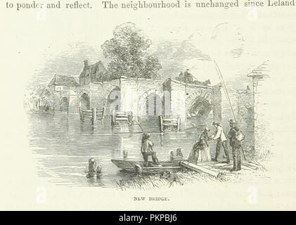 """Bild von Seite 72 """"Das Buch der Themse"""". - Stockfoto"""