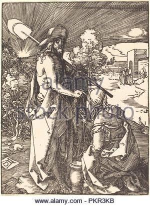 Noli Me Tangere. Vom: Wahrscheinlich C. 1509/1510. Medium: Holzschnitt. Museum: Nationalgalerie, Washington DC. Thema: Dürer, Albrecht. ALBRECHT DÜRER. - Stockfoto