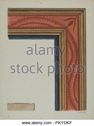 Bilderrahmen Stand 1938 Masse Gesamt 35 5 X 24 5 Cm 14 X 9 5 8