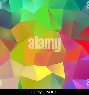 Polygonale farben Hintergrund. 3D-Rendering - Stockfoto