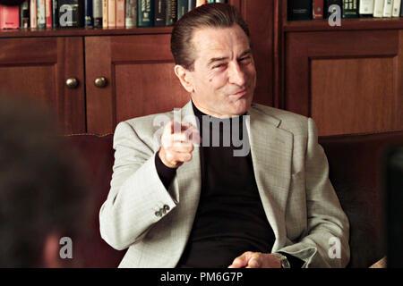 Film Still / Werbung noch von 'Analysieren', Robert De Niro © 2002 Warner Brothers Photo Credit: Phillip V. Caruso - Stockfoto
