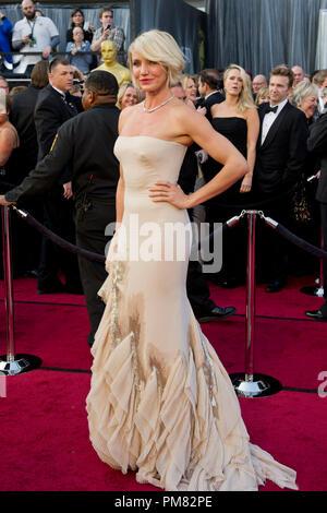 Cameron Diaz kommt für die 84. jährlichen Academy Awards aus Hollywood, CA Februar 26, 2012. - Stockfoto