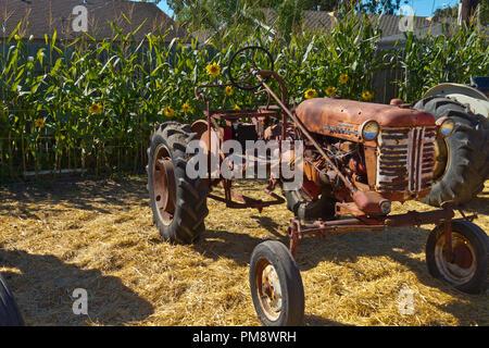 Antike McCormick Traktor
