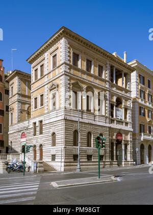 Piccola Farnesina, Museo di Scultura Barracco Antica, Rom, Italien - Stockfoto