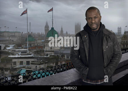 24:LIVE ANOTHER DAY: Gbenga Akinnagbe als Erik Ritter. - Stockfoto
