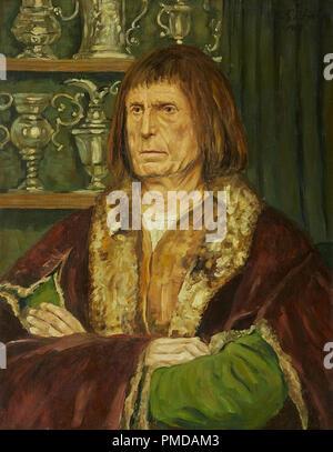 Gebhardt Eduard-von-Bildnis eines Herren in Renaissance-Tracht - Stockfoto