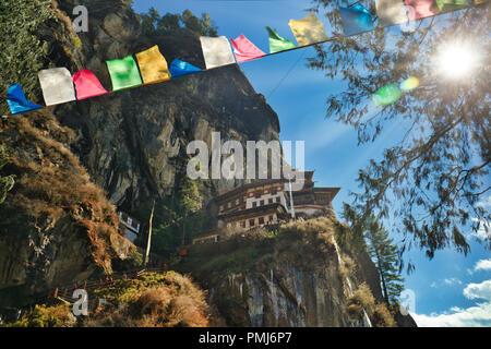 Tiger's Nest in Paro, Bhutan