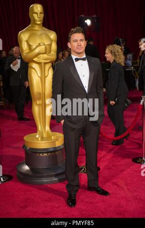 Channing Tatum kommt für die Live ABC Telecast der 86 Oscars® auf der Dolby® Theater am 2. März 2014 in Hollywood, CA. Datei Referenz # 32268_192 Nur für den redaktionellen Gebrauch - Alle Rechte vorbehalten - Stockfoto