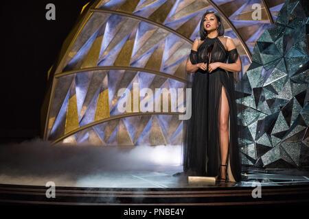 Taraji P. Henson präsentiert während der Live ABC Telecast der 90 Oscars® auf der Dolby® Theater in Hollywood, CA am Sonntag, den 4. März 2018. Datei Referenz # 33546 391 PLX nur für redaktionelle Verwendung - Alle Rechte vorbehalten