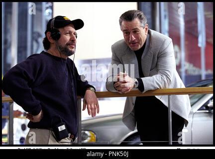 Prod DB © Village Roadshow - Tribeca/DR-MAFIA BLUES 2 (Analysieren) de Harold Ramis, USA 2002 avec Billy Crystal und Robert De Niro sur le tournage - Stockfoto