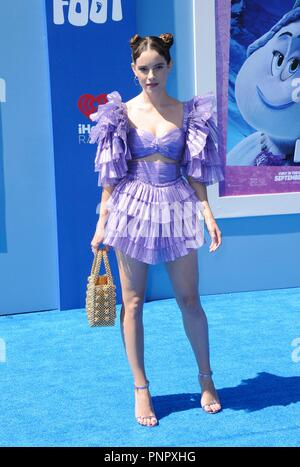 Los Angeles, CA, USA. 22 Sep, 2018. CYN in der Ankunftshalle für SMALLFOOT Premiere, Regency Dorf Theater - Westwood, Los Angeles, CA 22. September 2018. Credit: Elizabeth Goodenough/Everett Collection/Alamy leben Nachrichten - Stockfoto