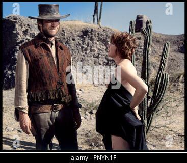 ZWEI MAULTIERE für Schwester SARA 1969 Universal Film mit Clint ... 50d1ae7489f