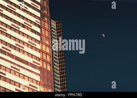 Textur und hintergrund der hochh user moderner architektur skyline in bangkok thailand - Architektonische hauser ...