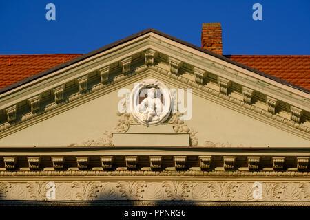 Aus dem Welserhaus, Fuggerplatz, augsburg, schwaben, bayern, deutschland Detail - Stockfoto