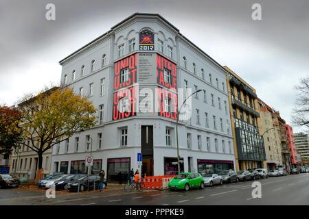 Urban Nation Museum, Buelowstrasse, Schöneberg, Berlin, Deutschland, Bülowstraße - Stockfoto
