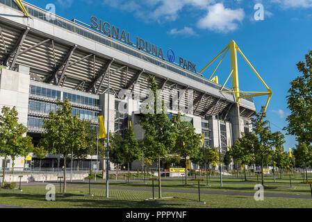 Signal Iduna Park, Fußball Stadion, BVB, Dortmund, Ruhrgebiet, Nordrhein-Westfalen, Deutschland